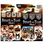 Attack on Titan Vinyl Sticker Pack Mix (10)