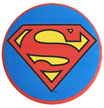 SUPERMAN 3 inch Logo Button