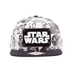 Star Wars Snap Back Baseball Cap Comic Style