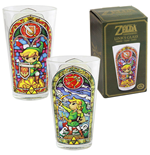 Legend of Zelda Wind Waker Pint Glass Link