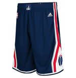adidas Washington Wizards Navy Blue Swingman Shorts