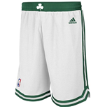 adidas Boston Celtics White New Swingman Shorts