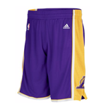 adidas Los Angeles Lakers New Swingman Purple Shorts