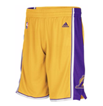 adidas Los Angeles Lakers New Swingman Gold Shorts