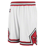 adidas Chicago Bulls Swingman White Shorts