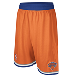 adidas New York Knicks Swingman Orange Shorts