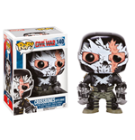 Captain America Civil War POP! Vinyl Bobble-Head Crossbones (Battle Damage) 9 cm
