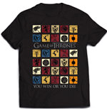 Game of Thrones T-Shirt Coloured Squares
