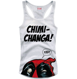 Deadpool Girlie Tank Top Chimi Changa