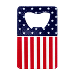 American Flag Card Bottle Opener