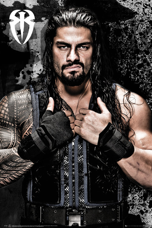 WWE Roman Reigns Maxi Poster