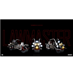 2000 AD Vehicle with Light Up 1/12 Judge Dredd's Lawmaster MK1 24 cm