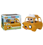 Adventure Time POP! Rides Vinyl Vehicle with Figure Jake Car & Finn 12 cm