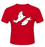 Ghostbusters T-shirt Logo Red