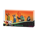 Zootopia / Zootropolis Gift Box with 4 Figures 5 - 10 cm