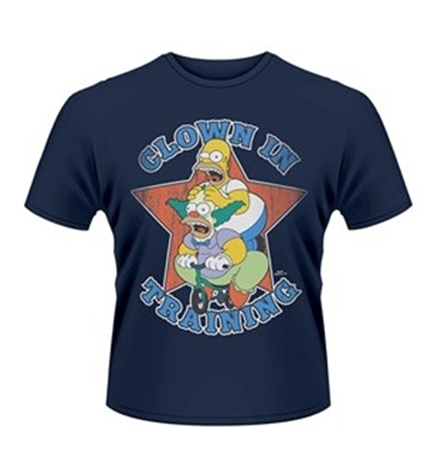 SIMPSONS, The T-shirt Clown