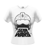 Star Wars The Force Awakens T-shirt X-WING Fighter Helmet