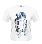 Star Wars The Force Awakens T-shirt R2D2 Chopped