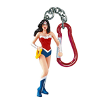 WONDER WOMAN Plastic Figure Keychain