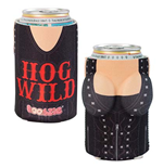 Hog Wild Boobzie Beer Can Koozie