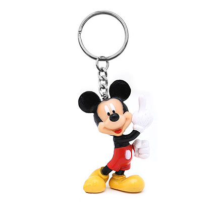 DISNEY Mickey Mouse Plastic Keychain
