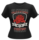 Sleeping With Sirens T-shirt Flowers