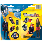 Doctor Who Vinyl Sticker Pack Mix (10)