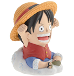One Piece Bust Bank Luffy 10 cm