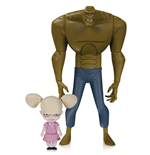 The New Batman Adventures Action Figure Killer Croc with Baby Doll 16 cm