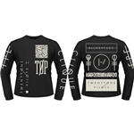 Twenty One Pilots Long Sleeves T-shirt Emblem