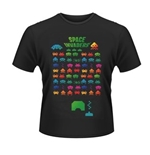 Space Invaders T-shirt Colours