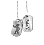 Fallout Dog Tag Necklace - Pair