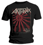 Anthrax T-shirt - Live In Japan