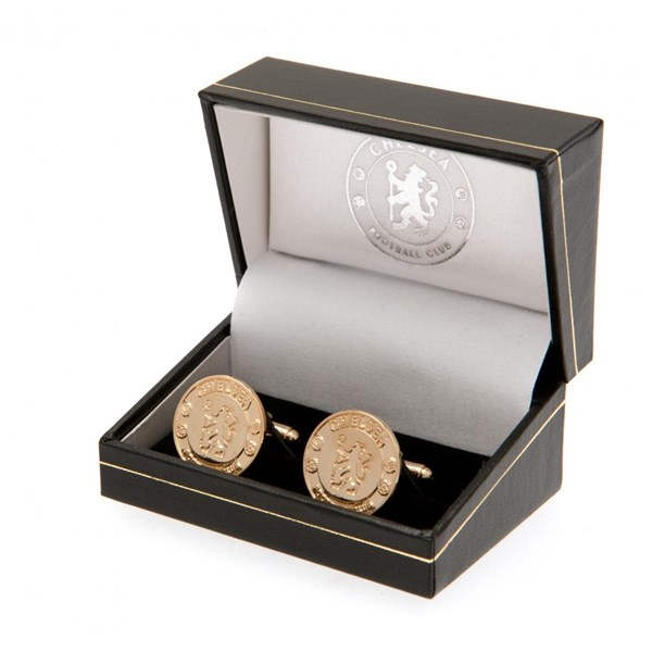 Chelsea F.C. Gold Plated Cufflinks