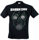 Green Day T-shirt - Green Mask