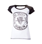 Guinness T-shirt - Antracite And White Skinnie