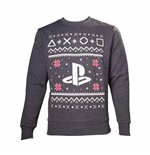 PlayStation Sweatshirt - Black Logo Christmas