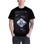 Destiny Black Shirt With Ghost (T-SHIRT Unisex )