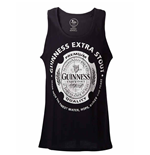 Guinness Tank Top - Black