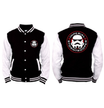 Star Wars College Jacket - Imperial Stormtrooper - Black and White