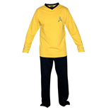Star Trek Pyjama Pant- Yellow Union Suit
