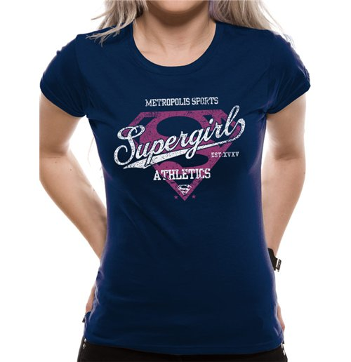 0d2485dd5c8e6 Official Supergirl T-shirt 208218  Buy Online on Offer