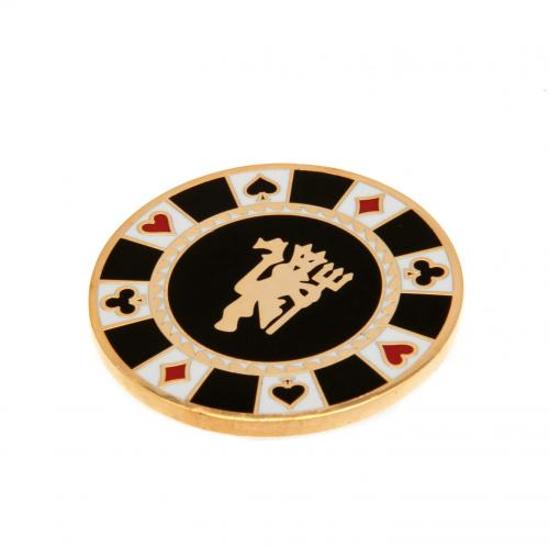 Manchester United F.C. Casino Chip Ball Marker