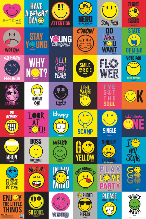 Smiley Compilation Maxi Poster