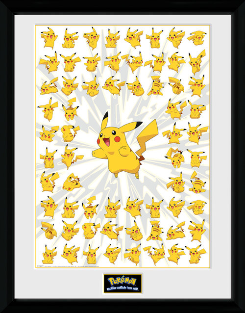 Pokemon Pikachu Framed Collector Print