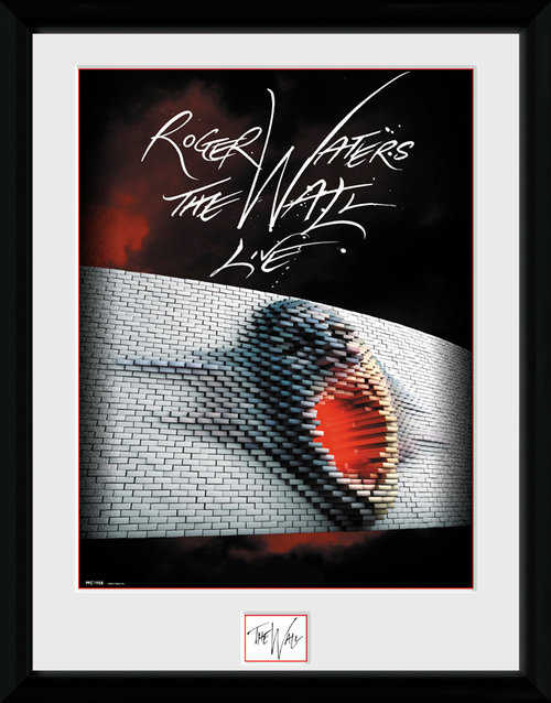 Pink Floyd Tour Poster Framed Collector Print