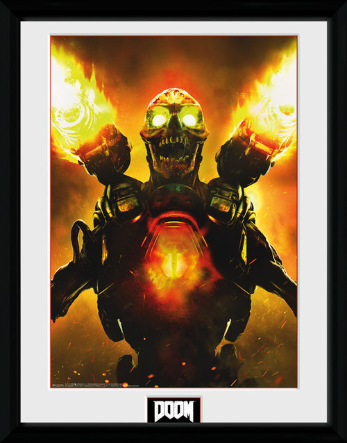 Doom Key Art Framed Collector Print