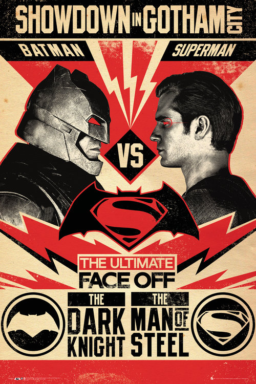 Batman Vs Superman Face Off Maxi Poster