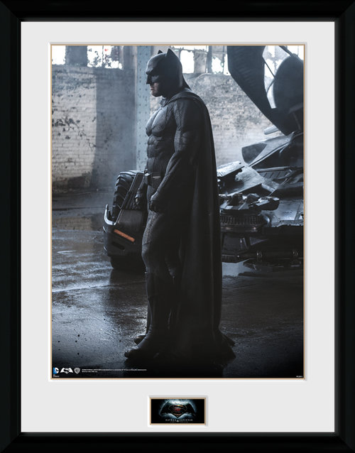 Batman Vs Superman Batman Framed Collector Print