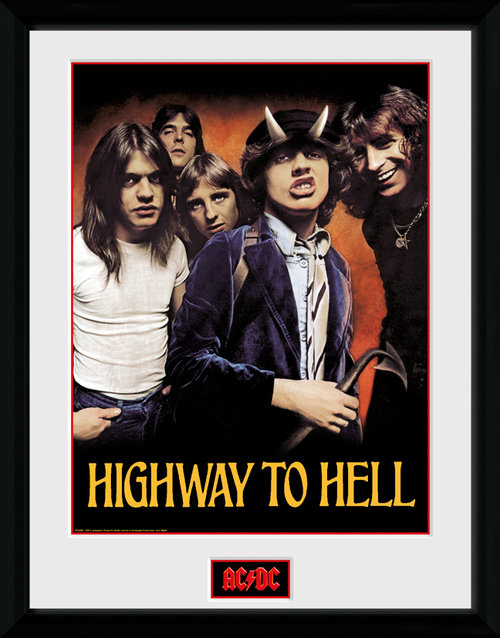 AC/DC Highway To Hell Framed Collector Print